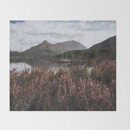 Calm day - Landscape and Nature Photography Throw Blanket