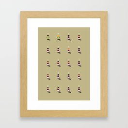 Sensible West Ham Framed Art Print