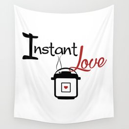 Instant Pressure Cooker Love with Steam Wall Tapestry