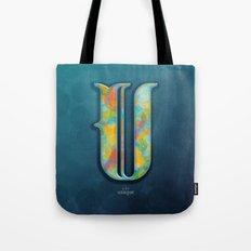 U is for Unique Tote Bag