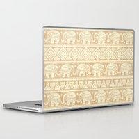 elephants Laptop & iPad Skins featuring ELEPHANTS by Oksana Smith