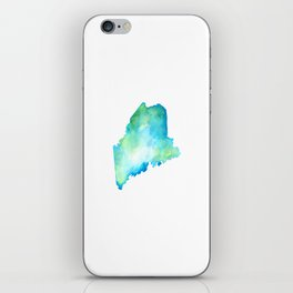 Maine - The Way Life Should Be iPhone Skin
