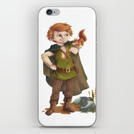Tobias the brave nature lover iPhone Skin