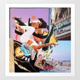 Fly Fearless Art Print