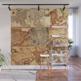 Old maps Wall Mural