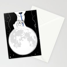 A drink of SuperMoonshine Stationery Cards