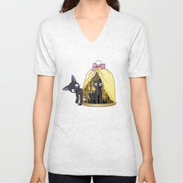 Jiji From Kiki's Delivery Service Unisex V-Neck