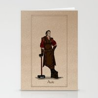 valar morghulis Stationery Cards featuring Aule by wolfanita