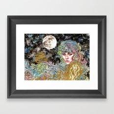 Polnoc Framed Art Print