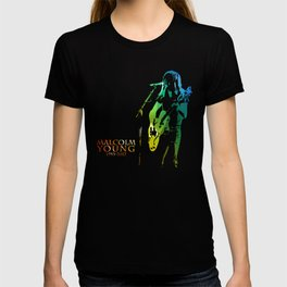 malcolm young T-shirt