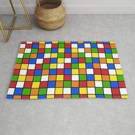 Rubik's cube Pattern Rug
