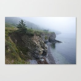 Cliffs and Coves Canvas Print