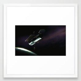Hubble Space Telescope Framed Art Print
