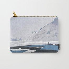 Vik Reynisfjara Black Sand Beach, Iceland Travel Poster Carry-All Pouch
