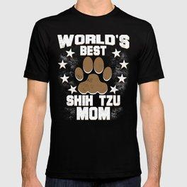 World's Best Shih Tzu Mom T-shirt