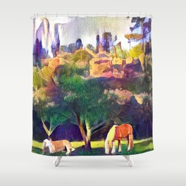 Mimosa Bellas Shower Curtain