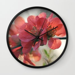 Evening Blush Wall Clock