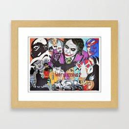 Gotham Crew Framed Art Print