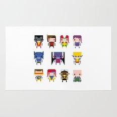 Pixel X-Men Rug