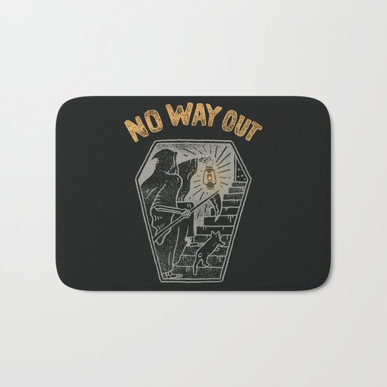 No Way Out Bath Mat