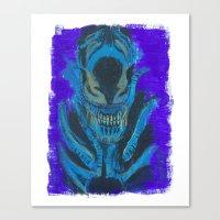 xenomorph Canvas Prints featuring Alien Xenomorph  by Dukesman