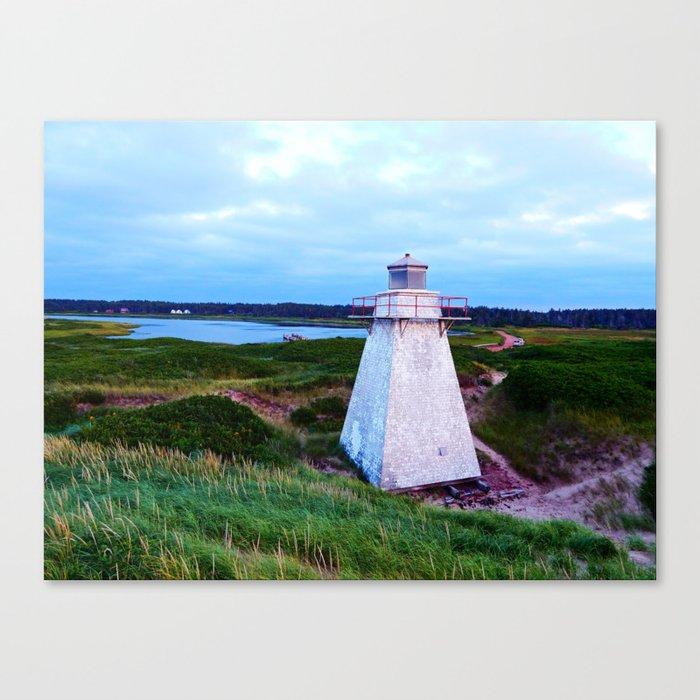 St-Peter's Harbour Lighthouse Canvas Print