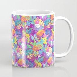 Exotic floral pattern. Coffee Mug