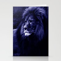 lion Stationery Cards featuring Lion. by 2sweet4words Designs