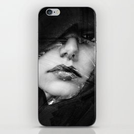 face visage iPhone Skin