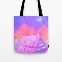 Pastel Capsule Corp Tote Bag