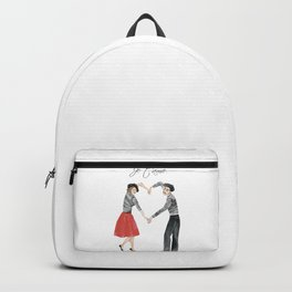 Je t'ame (heart of French couple) Backpack