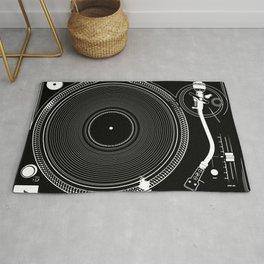 DJ TURNTABLE - Technics Rug