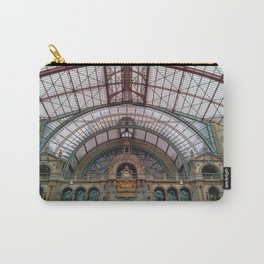 Antwerp Central Train Station Carry-All Pouch