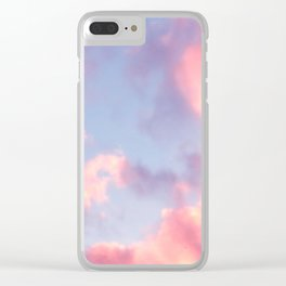 Whimsical Sky Clear iPhone Case