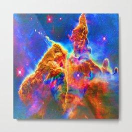 Cosmic Mind Metal Print