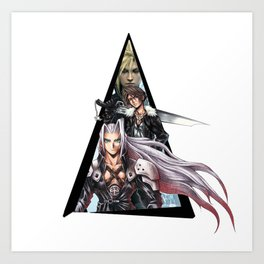 Youtriangle ∆ Final Fantasy Art Print