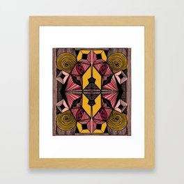 Body in Abstraction Framed Art Print