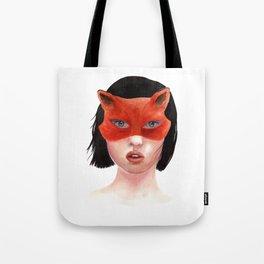 Foxgirl Tote Bag