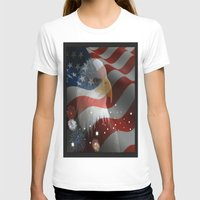 patriotic T-shirts featuring Patriotic America by Barrier Style & Design