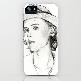 Henrik Holm drawing iPhone Case