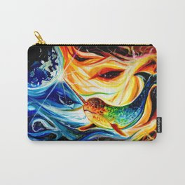Space Narwhal Carry-All Pouch