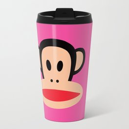 Julius Monkey by Paul Frank - Pink Travel Mug