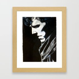 Sorrow Waited, Sorrow Won Framed Art Print
