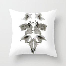 Rorschach Composition Throw Pillow