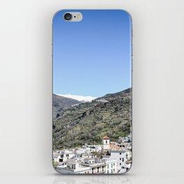 Pueblos Blancos with Sierra Nevada iPhone Skin
