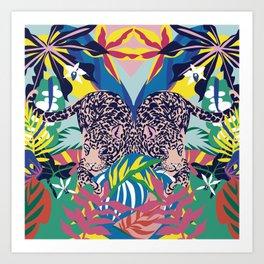 Jaguar Jungle Art Print