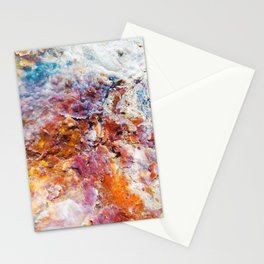 Colorful Crystals | Lesvos photography of petrified wood Stationery Cards