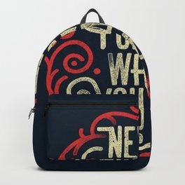 Never forget what you are - Backpack