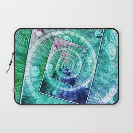 Spinning Nickels Into Infinity Laptop Sleeve