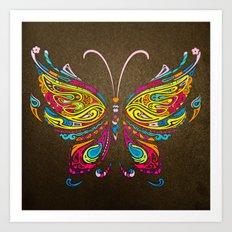 butterflyIII Art Print